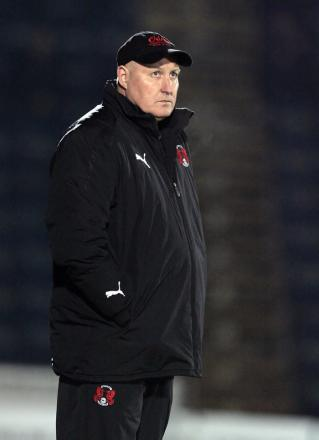 Russell Slade's side were meant to face Swindon on Boxing Day