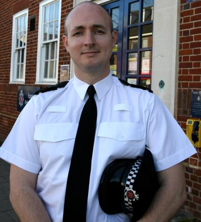 Chief Inspector Ed Wells