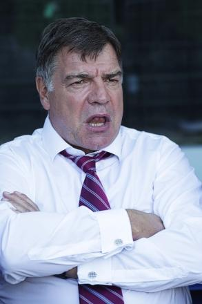 Sam Allardyce takes his side to Arsenal tonight: Action Images