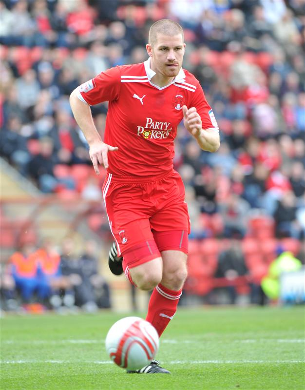 Ben Chorley has thanked Orient fans for their reception at the Stevenage game: Action Images