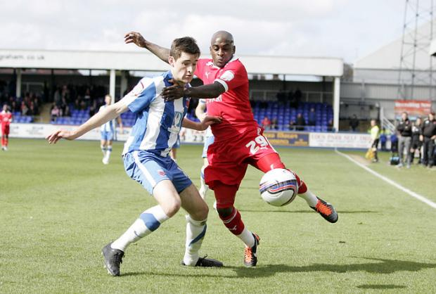 Jamal Campbell-Ryce has not been offered a new deal by parent club Bristol City. Picture: Simon O'Connor