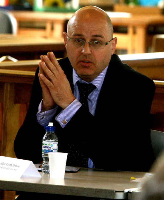 Redbridge council leader Keith Prince is 'hacked off' at the news.