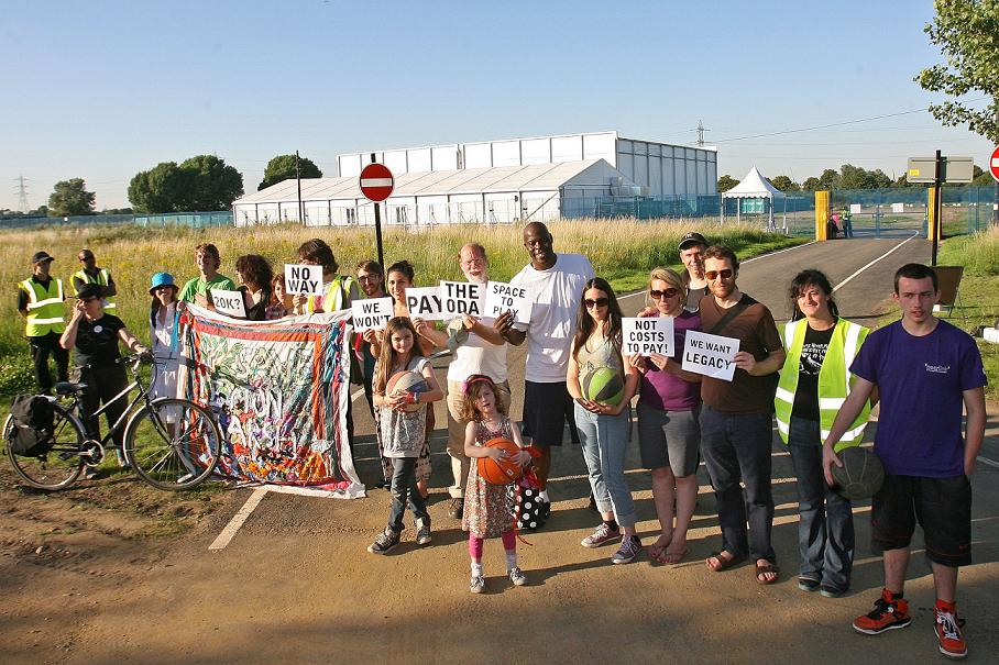 LEYTON: Campaigners plan to appeal against Olympic marsh costs