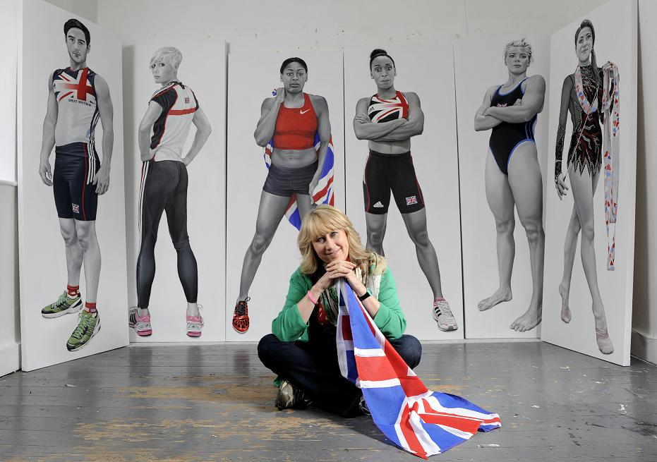 Olympic artist Teresa Witz will launch this year's art trail