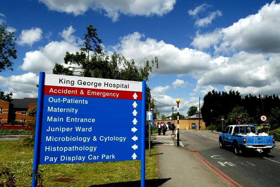King George Hospital in Goodmayes