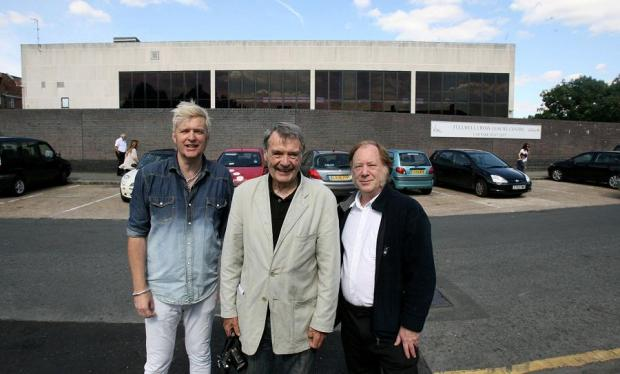 Steve Eaton, John Sharrock and Allan Howe of the Better Barkingside project