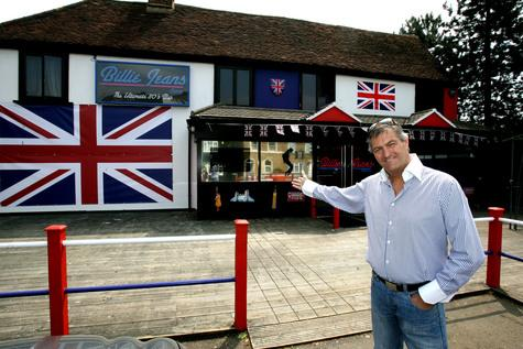 Nightclub owner Gary Smith, outside Billie Jeans.