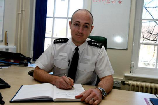 Chief Inspector Ed Wells.