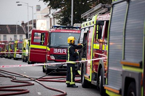 the number of fires in Waltham Forest and Redbridge have more than halved in 10 years