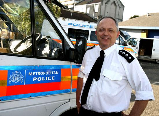 Chief Inspector John Fish, the new senior police officer in