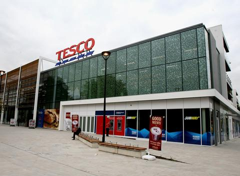 The new Tesco store in Highams Park
