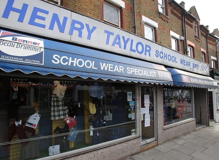 Sadness at closure of school uniform shop