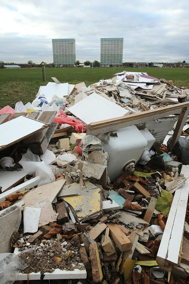 Anger as kitchen is dumped on Wanstead Flats