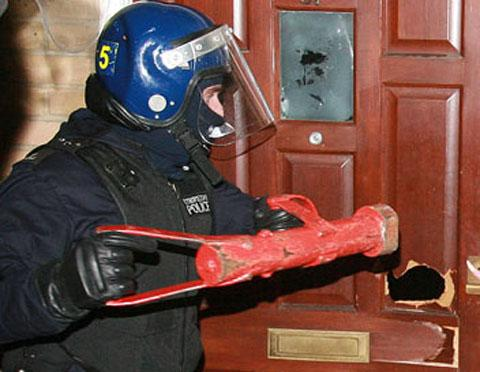 Six homes in Waltham Forest were stormed by officers on Thursday (file photo)