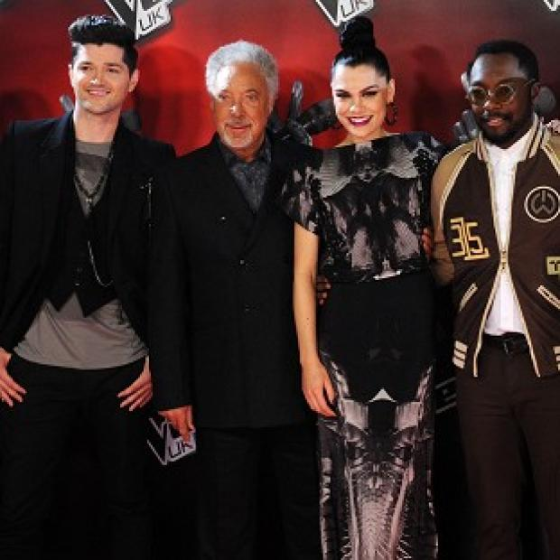 East London and West Essex Guardian Series: Danny O'Donoghue, Tom Jones, Jessie J and Will.i.am have all signed up for the new series of The Voice