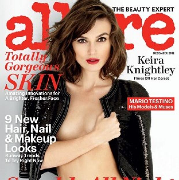 East London and West Essex Guardian Series: Keira Knightley was photographed by Mario Testino for Allure magazine