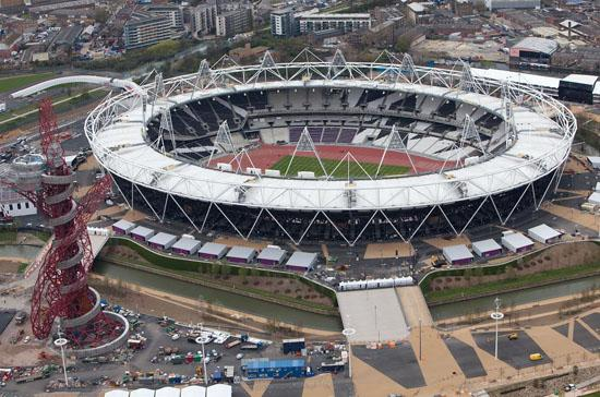 Three charged over Olympic Stadium bid 'spying'