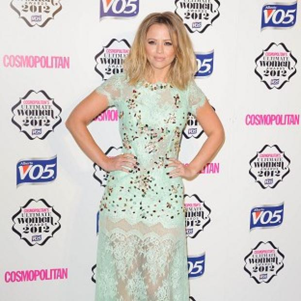 East London and West Essex Guardian Series: Kimberley Walsh will wear a gown with an extra long train on Strictly