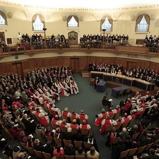 The Church of England's General Synod is debating the introduction of female bishops