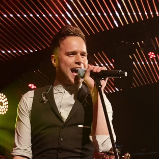 Olly Murs is celebratring h