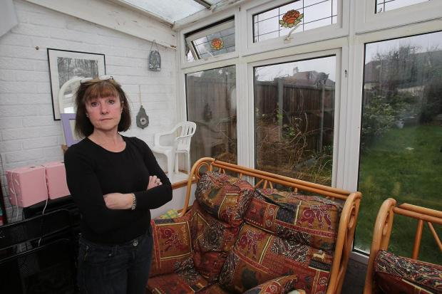 East London and West Essex Guardian Series: Leslie Brand in her conservatory