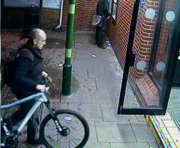 CCTV image of man wanted in connection of a bike theft