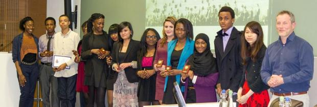 Young people receive awards