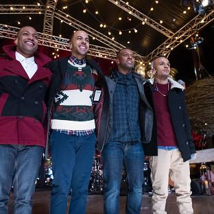 JLS have given their fans a Christmas treat