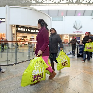 Shoppers smash Boxing Day records