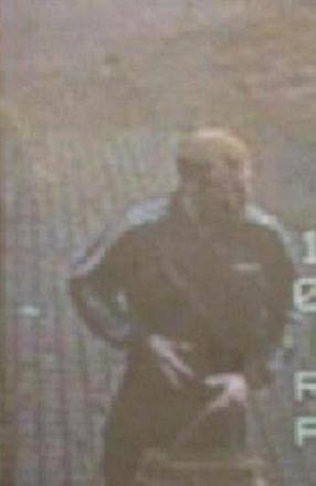 A CCTV image of a man police want to speak to following a burglary in Epping