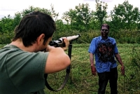 Filming of The Zombie Diaries