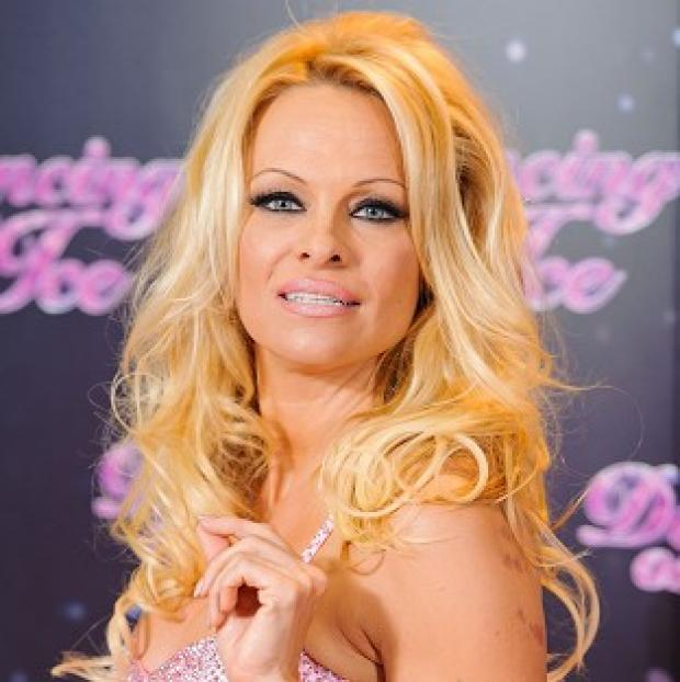 East London and West Essex Guardian Series: Pamela Anderson was the first celebrity to be voted off Dancing on Ice