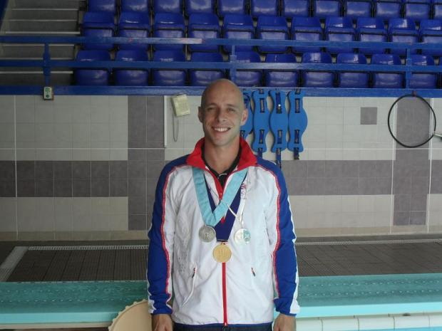 Peter Waterfield at Waltham Forest Pool and Track in Walthamstow.