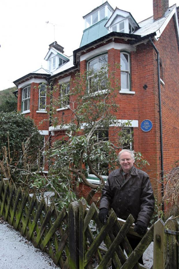 Chris Pond, the chairman of the Loughton Historical Society