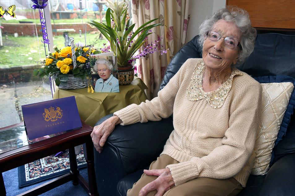 Hard work key to a long life, says 100-year-old great-great grandmother