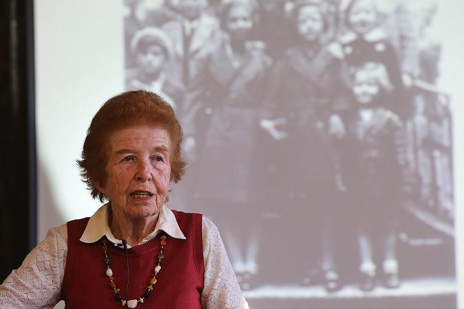 Holocaust Memorial Day marked at college with visit by Jewish woman who escaped Nazi Germany