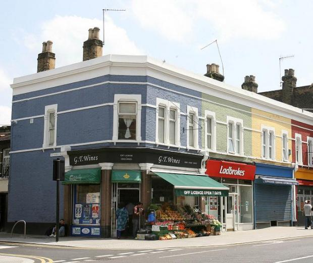 The refurbishment of shop fronts in Leyton High Road was part of a wider project to rejuvenate the area.