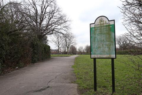 Chase Lane Park in Chingford.