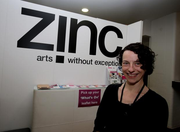 Zinc Arts Centre director Heather Stradling