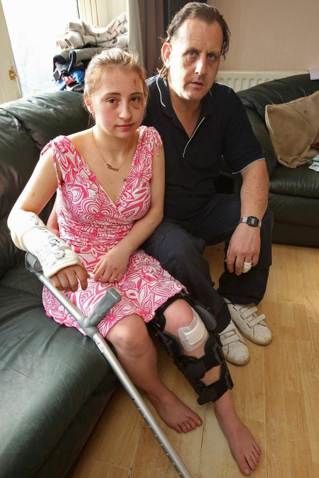 East London and West Essex Guardian Series: Milkman and daughter 'lucky to be alive' after horror crash