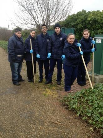 Police cadets seize drugs and weapons