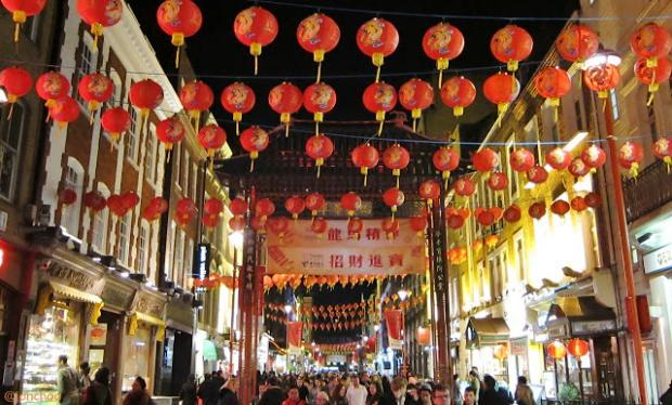 East London and West Essex Guardian Series: London Chinatown Chinese Lunar New Year 2013