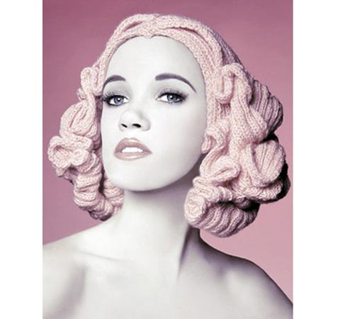 Louise Walker from Chelmsford has created a series of wigs from wool