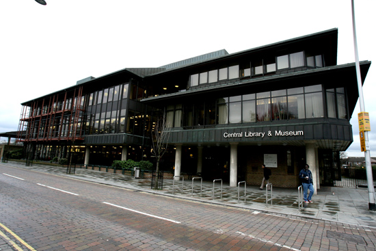 Library nominated for award