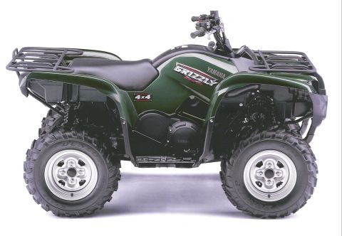 A Yamaha Grizzly quad bike was among the items taken from the farm