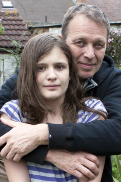 Peter Northall and daughter April