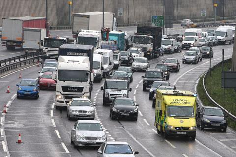 The A406 North Circular road is one of the most polluted in the UK