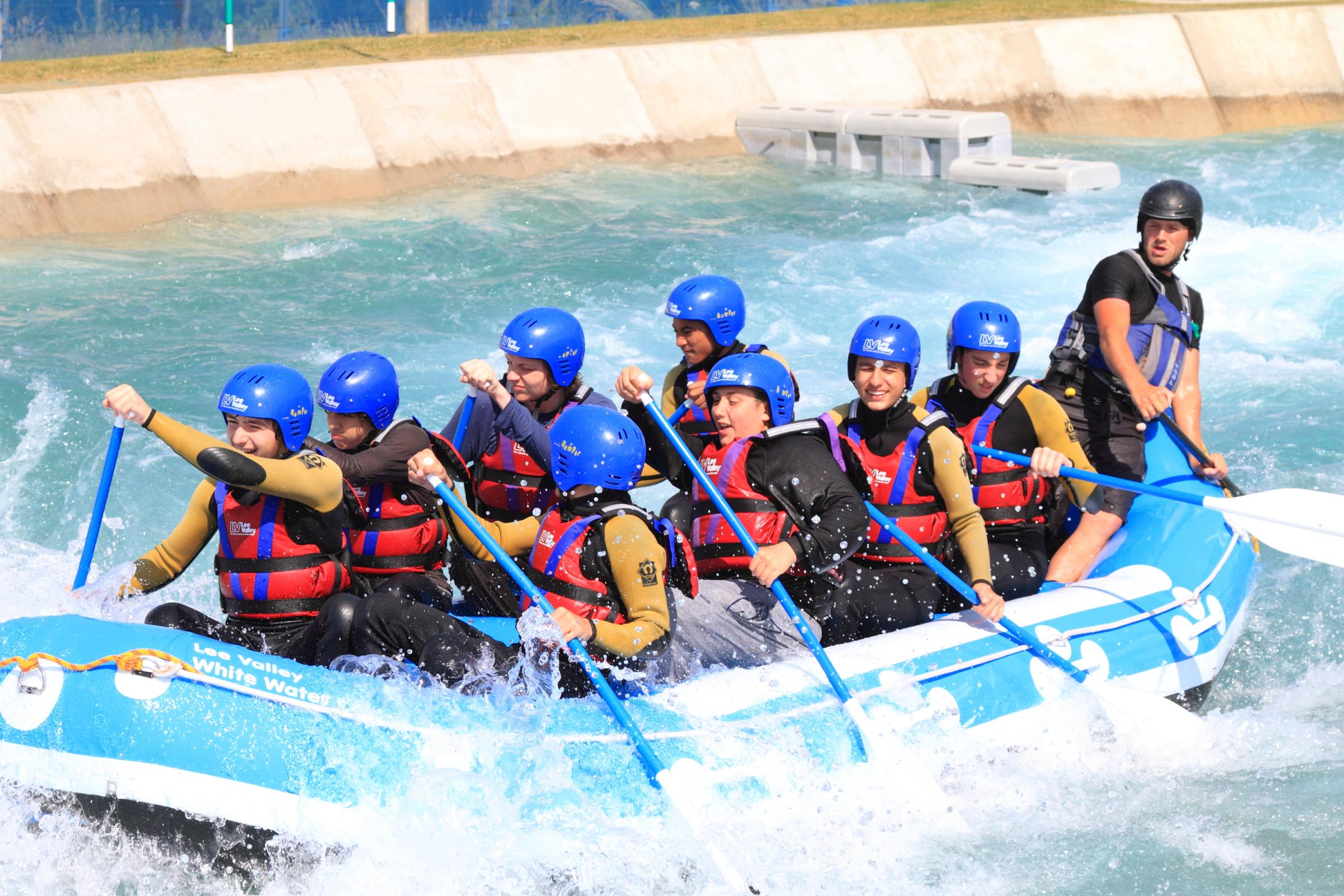 Half-term fun at Lee Valley