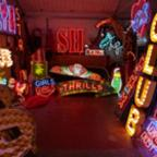 East London and West Essex Guardian Series: Internationally renowned neon sign business, Gods Own Junkyard attracts 250-300 visitors every weekend
