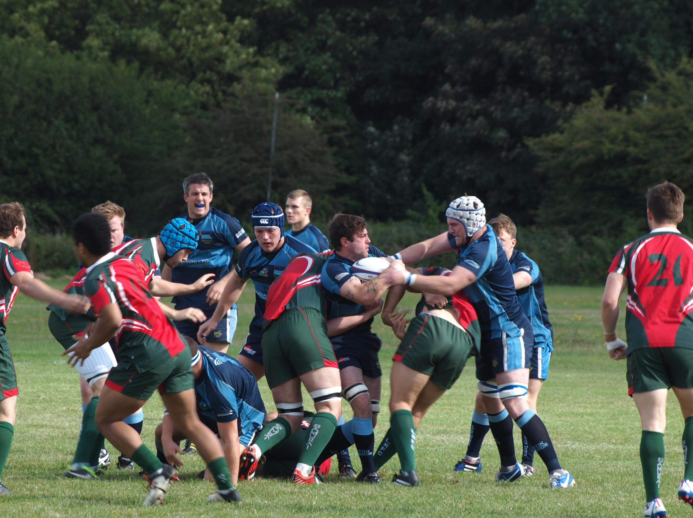 Eton Manor edged past Colchester